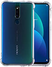 JGD PRODUCTS Back Case Cover for Oppo F11 pro (2019) Transparent Corner Protection Bumper Cover