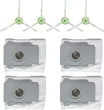 iFOMO Replace T Side Brush Kit Compatible Irobot Roomba I7 I7+/I7 Plus E5 E6 E7 Vacuum Cleaner Grey