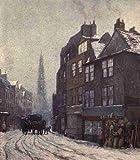 A4 foto Norman Philip 1842 1931 Londres desaparecióy desaparición Nell 1905 Gwynnes alojamiento proully Londres Póster