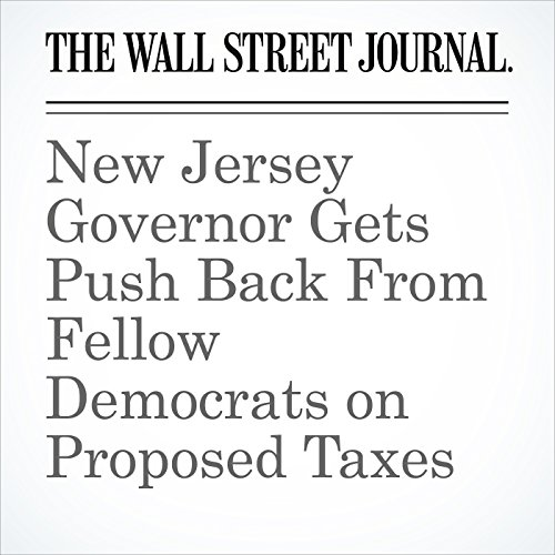 New Jersey Governor Gets Push Back From Fellow Democrats on Proposed Taxes copertina