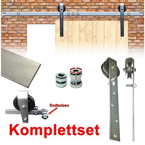 BAUER - Scheunentorset 6m 1-flüglig, für Torbreite 3m | Scheunentor, Schiebetor, Einfahrt, Rolltor,
