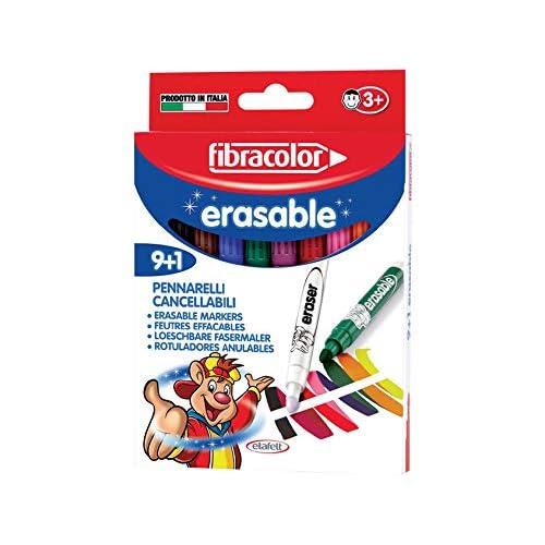 9+1 Fibracolor Colour Change Magic Pens