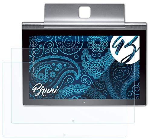 Bruni Schutzfolie kompatibel mit Lenovo Yoga Tablet 2 Pro 13.3 inch Folie, glasklare Displayschutzfolie (2X)