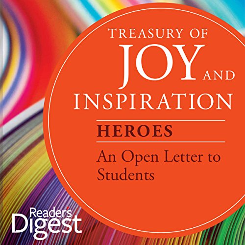 An Open Letter to Students audiobook cover art