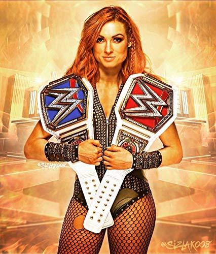 71Un8eKobSL._SL1269_Becky Lynch Creates History 'Winning It All', Seth Rollins and Kofi Kingston Win Wrestlemania Poster12x14 inch poster sscreation