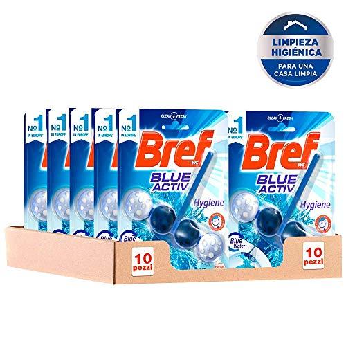Bref Blue Activ Cesta Higiénica para WC - Pack de 10