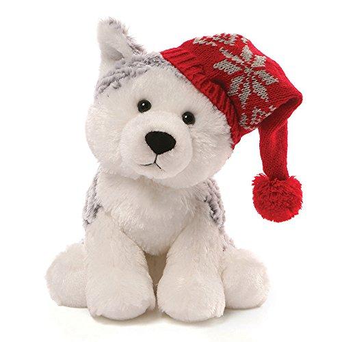 GUND Christmas Flurry Husky Plush, 8'/Medium