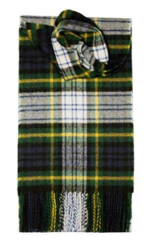 Lochcarron Dress Gordon Tartan Schottenmuster Lammwollschal
