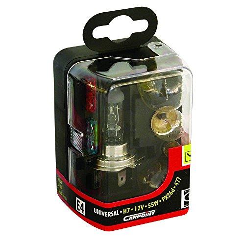 Carpoint 0725007 Jeu de Lampes H7 Standard