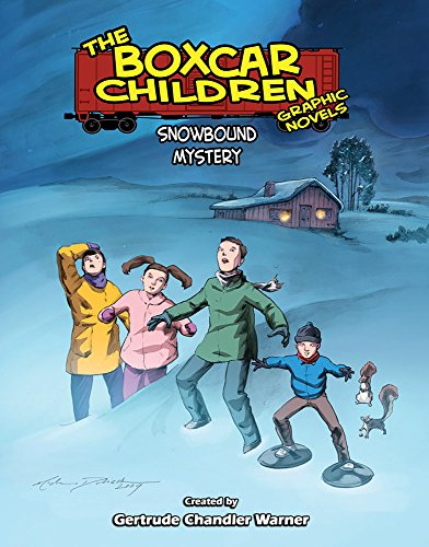 Snowbound Mystery (Boxcar Children Graphic Novels, Band 8)