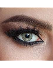 Mystery Cosmetic Contact Lenses, Six Month Disposable, Beige - 180000402822