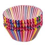 Basage - Pirottini per cupcake in carta, per muffin, cucina, feste di matrimonio