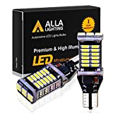 Nissan 1000 Series Accessory Lighting - Alla Lighting 912 921 LED Reverse Light Bulbs Extremely Super Bright 4014 30-SMD CANBUS 921 LED Bulbs RV T15 T10 906 W16W Back up, Cargo Lights Replacement, 6000K Xenon White
