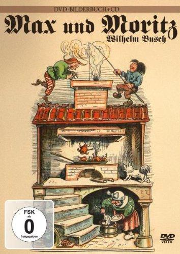 Max & Moritz - Wilhelm Busch (+ Audio-CD) [2 DVDs]
