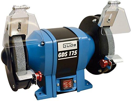 Guede GDS 175 2Disks 2950RPM Schleifbock - Schleifböcke (2 Disks, Schwarz, Blau, 2950 RPM, 17,5 cm, 2,5 cm, 3,2 cm)