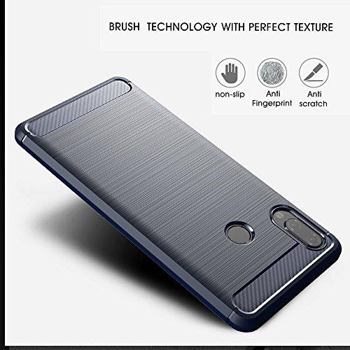 Elekin Hülle Kompatibel für Huawei P20 Lite, Handyhülle Kompatibel für P20 Lite Case Cover - Blau - 5