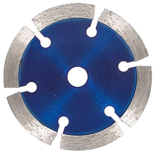 PRODIAMANT Disco de corte diamante premium HORMIGÓN 75 mm x 10 mm azul compatible con BOSCH GWS 10,8-76 V-EC profesional