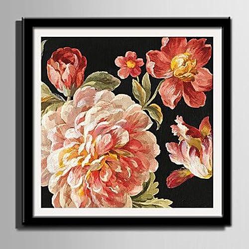 Xuanku E-Home Toile Encadrée des Richesses Et De La Gloire De l'art Fleurs Toile Encadrée Imprimer Un Pcs