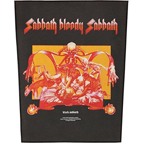 BLACK SABBATH SABBATH BLOODY SABBATH Backpatch
