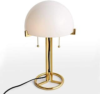 Lampe de Table Lampe rétro Personnalité Minimaliste de Luxe Creative Mode décoratif Lampe de Verre Nordic Salon Chambre Bu...