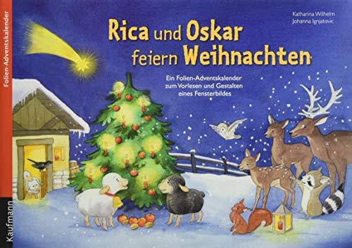 Rica und Oskar feiern Weihnachten: Folien-Adventskalender