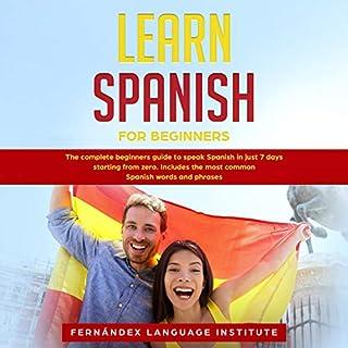 Learn Spanish for Beginners cover art