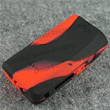 Silicone Case for IPV 5 Sleeve IPV5 200W Protective Skin Wrap (Red/Black)