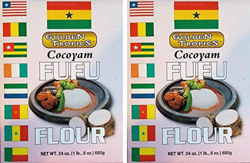 COCOYAM FUFU FLOUR 2PK