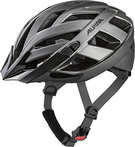 ALPINA PANOMA 2.0 LE Fahrradhelm, Unisex– Erwachsene, darksilver titanium, 56-59