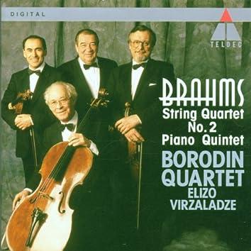 Brahms : Piano Quintet & String Quartet No.2