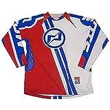 Mots MT2109XLR Trial PRE-65 Camiseta, Rojo, Talla XL