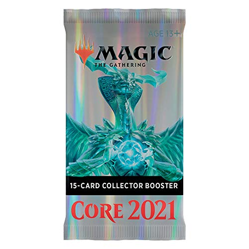 Wizards Magic The Gathering Set Base Core 2021 M21 Busta Bustina Collector Booster in Inglese