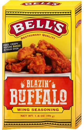 Bell's, Blazin Buffalo Wing Seasoning, 1.6oz (pack of 2)