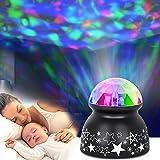sanlinkee Nachtlicht Projektor Baby Projektor Licht, LED Kinder Nachtlicht Ozeanwellen Projektor...