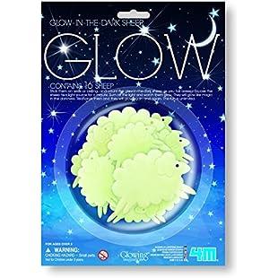 4M 405937 Great Gizmos Glow Sheep Sticker:Shizuku7148