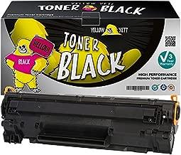Yellow Yeti Cartucho de Tóner Compatible para HP Laserjet Pro P1100 P1102 P1102w M1212nf M1213nf M1217nfw M1132 MFP Canon i-SENSYS LBP-6000 LBP-6018 LBP-6020 LBP-6020B MF-3010 [3 años de garantía]