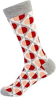 RNUYKE Safety Durable Cotton Fashion Colorful Cotton Fun Bright Patterned Socks, Men's Women's