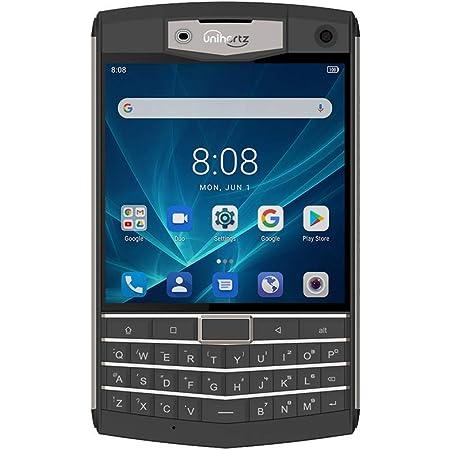 Unihertz Titan, QWERTY タフネススマートフォン, アンドロイド 9.0 Pie,SIMフリー,6GB RAM と128GB ROM, 黒