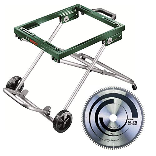 Bosch Mobiles Untergestell PTA 2000 (für Tischkreissäge und Unterflur-Zugsäge...