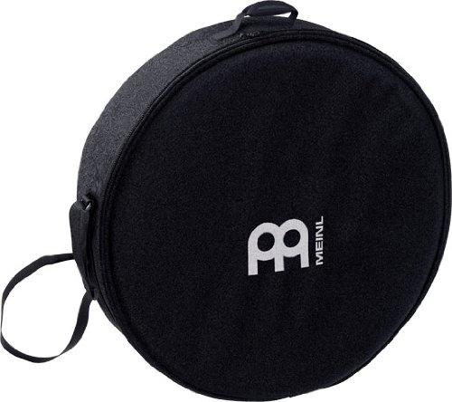 Tasche für Rahmentrommel, schwarz, gefüttert, 46cm, für Schamanentrommel, gefüttert