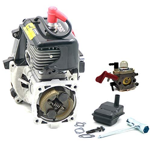 FLMLF 35CC 2 Stroke Engine RC car Engine with Walbro Carburetor WT 997 668 Carb for 1/5 Hpi rovan kingmotor Baja Lois 5ive T DBXL REDCAT FG CAR GoPed