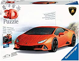 Lamborghini Huracán EVO: Erleben Sie Puzzeln in der 3. Dimension