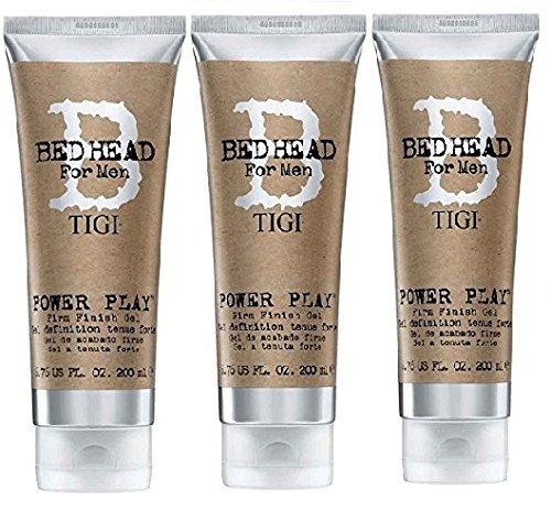 TIGI BED HEAD Power Play Gel 200ml (3 PIECES)