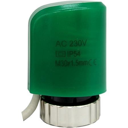 230v 24v NO NC actuador termico electrotermico para distribuidor calefaccion por suelo radiante radiador valvulva