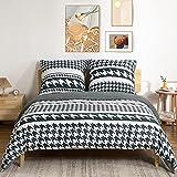 TOCOMOA Biancheria da letto 200 x 200 cm, in...