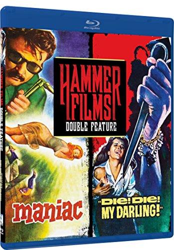 Hammer Films Double Feature - Volume Three: Maniac, Die! Die! My Darling! - Blu-ray
