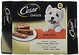 Cesar Classics - Comida para perros, selección mixta, 8 x 1