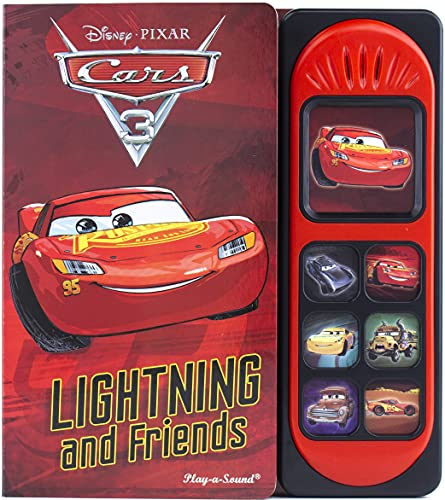 Disney Pixar Cars 3 - Lightning McQueen and Friends Little Sound Book - Play-a-Sound - PI Kids (Play-A-Song)