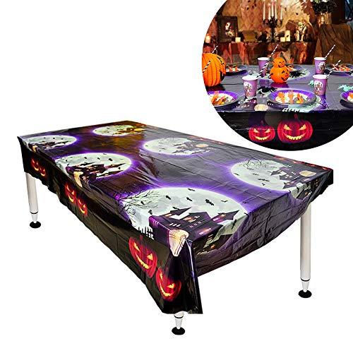 Asien 1 Piezas Juego vajilla desechable Halloween