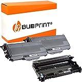 Bubprint 2 XXL Toner und Trommel kompatibel für Brother TN-2120 DR-2100 für DCP-7030 DCP-7040 DCP-7045N HL-2140 HL-2150N HL-2170 HL-2170W MFC-7320 MFC-7440N MFC-7840W